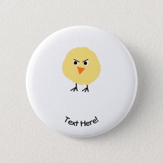Bird Very Upset 6 Cm Round Badge