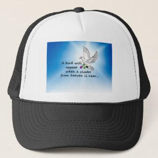 Bird, Visitor from Heaven Trucker Hat