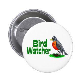 Bird Watcher Pinback Button