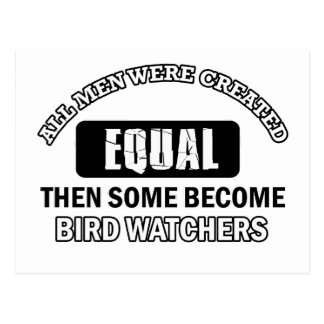 Bird Watchers Job designs Postcard