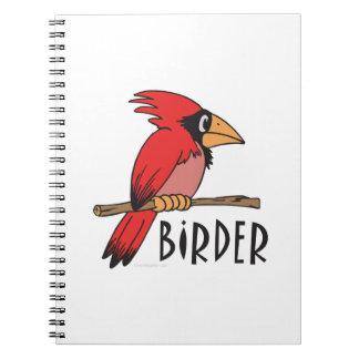 Bird Watching Spiral Notebooks