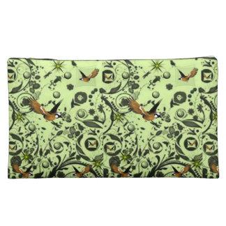 bird wildlife girls baggette cosmetic bag