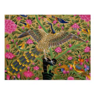 Bird with a Hundred Eyes Postcard