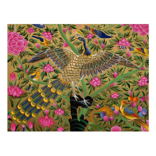 Bird with a Hundred Eyes Postcard