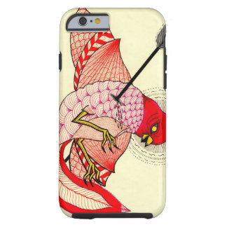 bird with arrow tough iPhone 6 case