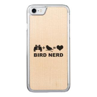 Birder Birdwatcher Funny Bird Nerd Carved iPhone 7 Case