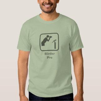 Birder Pro (Grey Logo) Tshirt