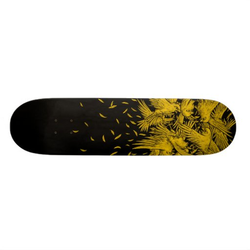 Birdfight Skateboard Deck