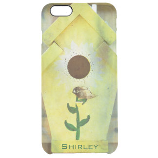 Birdhouse by Shirley Taylor Clear iPhone 6 Plus Case
