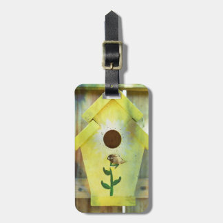 Birdhouse by Shirley Taylor Luggage Tag