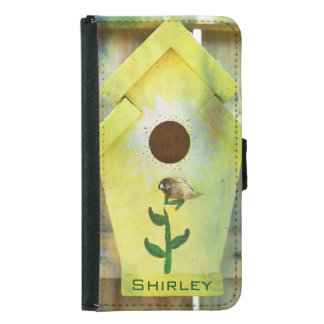 Birdhouse by Shirley Taylor Samsung Galaxy S5 Wallet Case