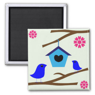 Birdhouse clipart magnets
