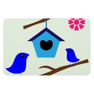 Birdhouse clipart flexible magnets