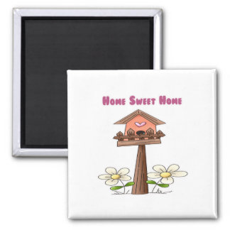 Birdhouse Home Sweet Home Magnet