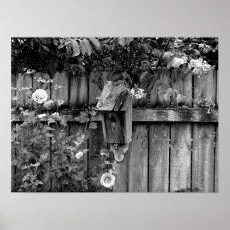 Birdhouse in Summer Poster