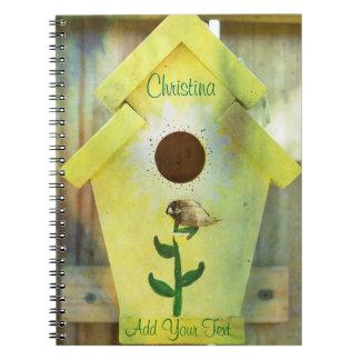 Birdhouse Notebook