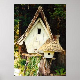 Birdhouse Poster