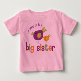 birdie big sister back baby T-Shirt
