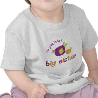 birdie big sister to be shirts