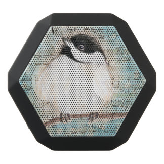 Birdie Chickadee Music Black Bluetooth Speaker