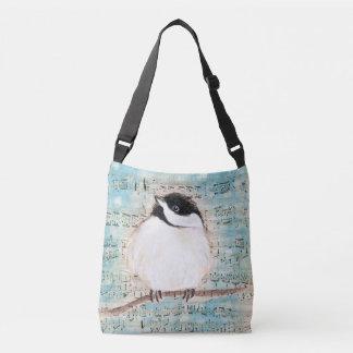 Birdie Chickadee Music Crossbody Bag
