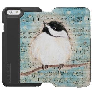 Birdie Chickadee Music Incipio Watson™ iPhone 6 Wallet Case