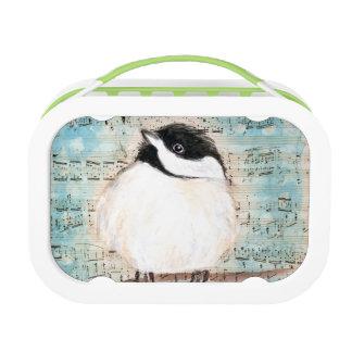 Birdie Chickadee Music Lunch Box