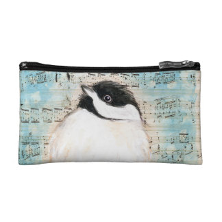 Birdie Chickadee Music Makeup Bag