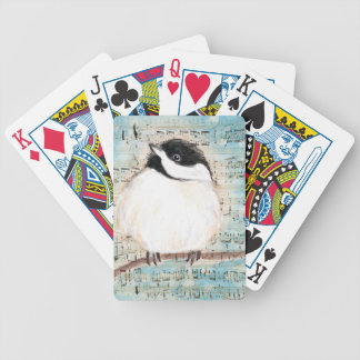 Birdie Music Song Bicycle Playing Cards