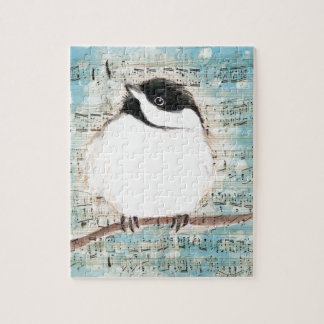 Birdie Music Song Jigsaw Puzzle