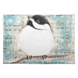 Birdie Music Song Placemat