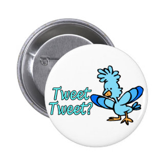 Birdie Tweet Tweet 6 Cm Round Badge