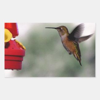 Birdie Yum-Yums Rectangular Sticker
