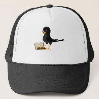 birdies love books cap