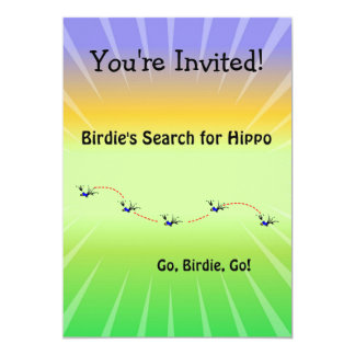 Birdie's Search for Hippo Card