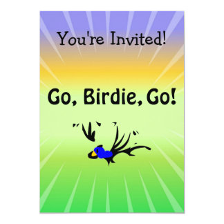 Birdie's Search for Hippo Personalized Invitations