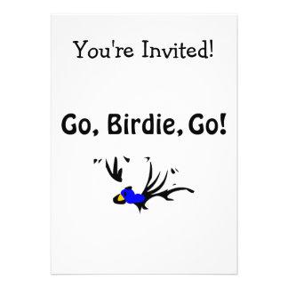 Birdie's Search for Hippo Custom Invite