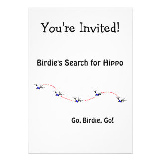 Birdie's Search for Hippo Cards