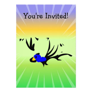 Birdie's Search for Hippo Personalized Invites