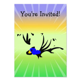 Birdie's Search for Hippo Personalized Invites