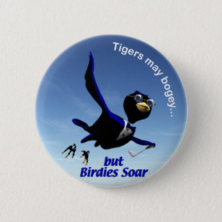 Birdies Soar 6 Cm Round Badge