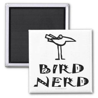 Birding, Birdwatching, Ornithology Square Magnet
