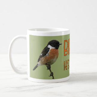 """Birding, it's a way of life"" Mug"