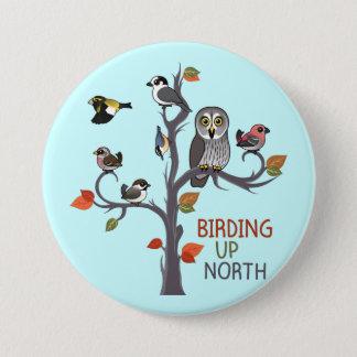 Birding Up North 7.5 Cm Round Badge