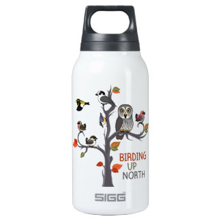 Birding Up North Insulated Water Bottle