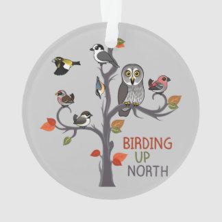 Birding Up North Ornament