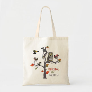 Birding Up North Tote Bag
