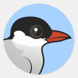 Birdorable Arctic Tern Classic Round Sticker