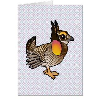 Birdorable Attwater's Prairie Chicken Card