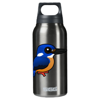 Birdorable Azure Kingfisher Insulated Water Bottle